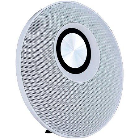 Caixa de Som Bluetooth Speaker Flip 30W Branco/Cinza - Oex
