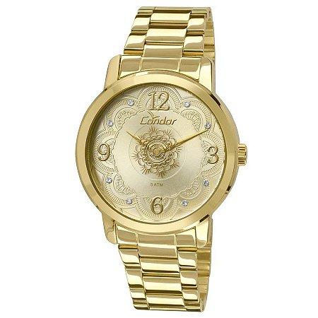 Relógio Condor Dourado – CO2036CN4X