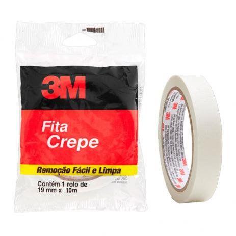 Fita crepe 19mm x 10m - Flow Pack - 3m
