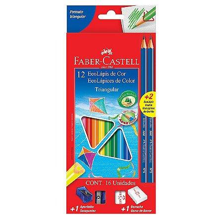Lápis de cor 12 cores - Faber-Castell