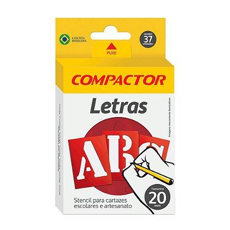 Letras Vazadas ABC Compactor 20mm