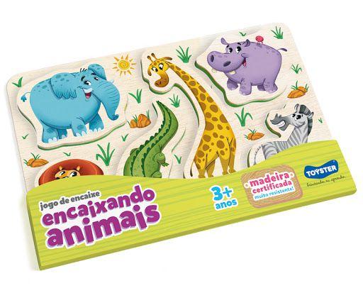 Jogo de Encaixe - Encaixando o Animais - Toyster