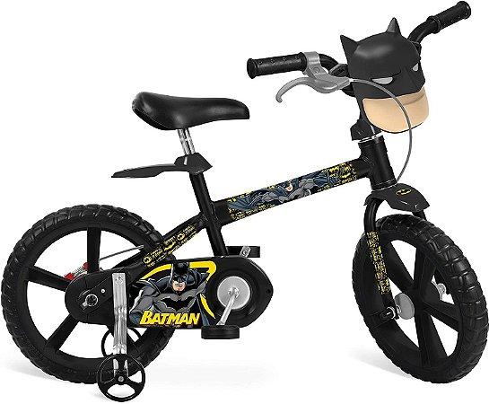 Bicicleta Aro 14 - Batman - Bandeirante
