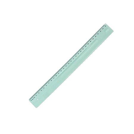 Régua em poliestireno 30 cm Verde Pastel - Dello