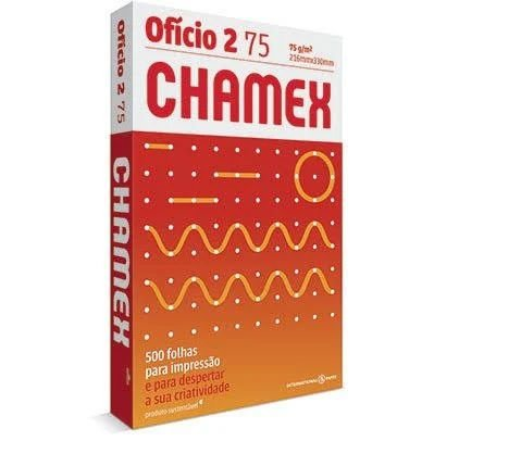 Papel sulfite Chamex Ofício 2 75g 216mmx330mm Ipaper PT 500 FL