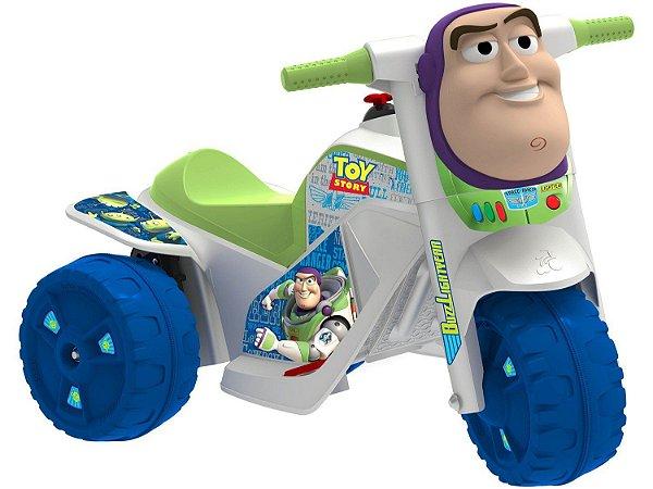 Mini Moto Elétrica Infantil Buzz Lightyear - 2 Marchas 6V Bandeirante