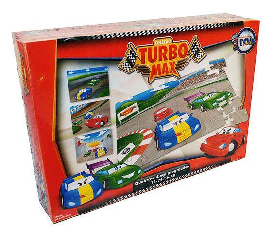 Quebra cabeça carro turbo - Toia
