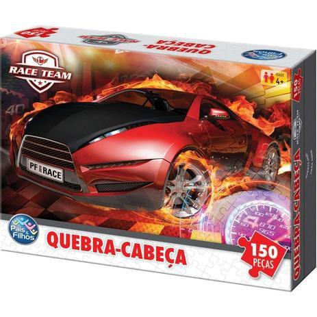 Jogo Quebra Cabeça Race Carros 150 Peças - Pais e Filhos