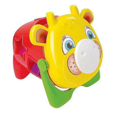 Brinquedo Educativo Vaquinha Joly - MercoToys