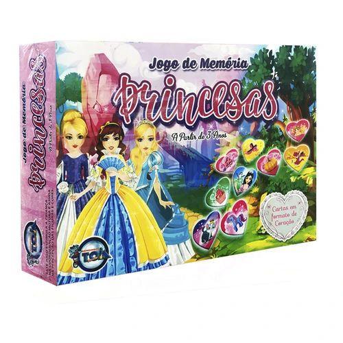 Jogo da Memória Princesas - Toia