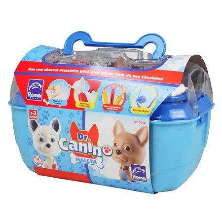 Maleta Dr Canino Pet Azul - Roma Brinquedos