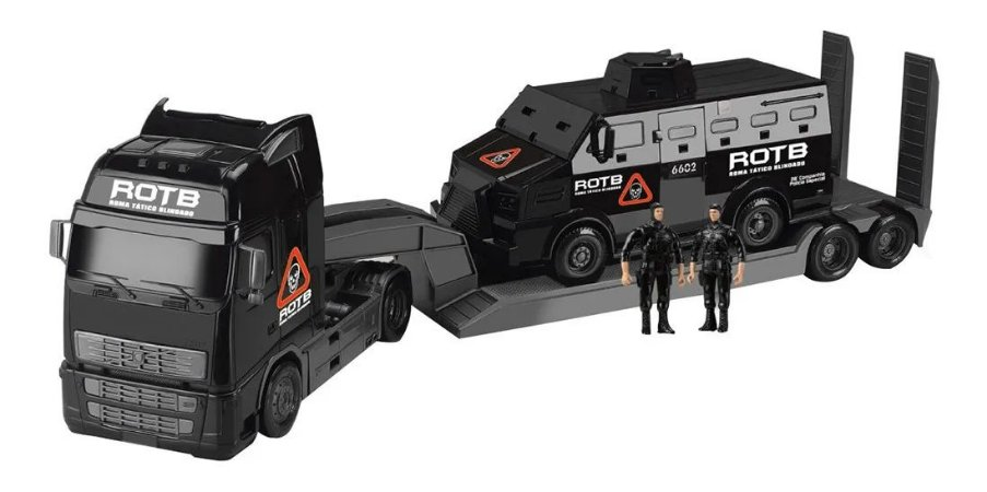 Caminhão Roma Diesel Tático Blindado - Roma Brinquedos