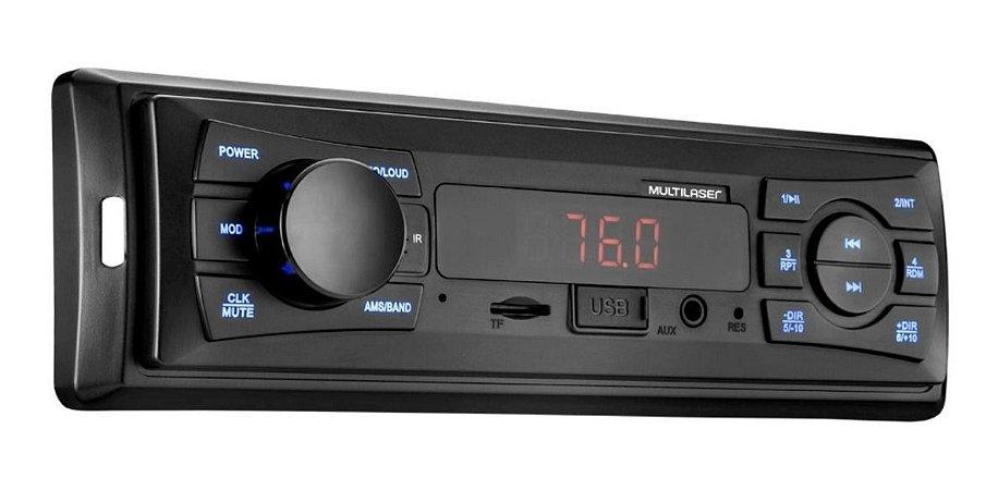 Rádio Automotivo Vibe Multilaser Mp3 Usb/sd - Multilaser
