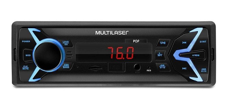 Som Automotivo Pop Mp3 Usb/sd - Multilaser