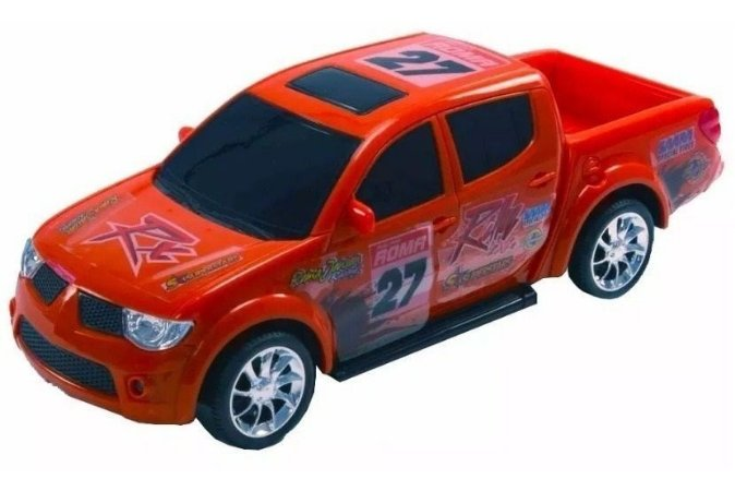 Brinquedo Carrinho Pick-Up RX - Rally L200 Roma Brinquedos