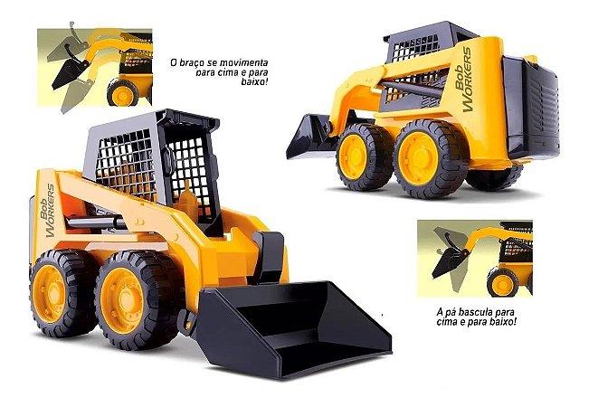 Trator Carregadeira Bob Workers - Roma Brinquedos