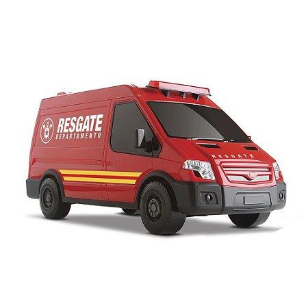 Brinquedo Carrinho Infantil Van Supervan Resgate Roma