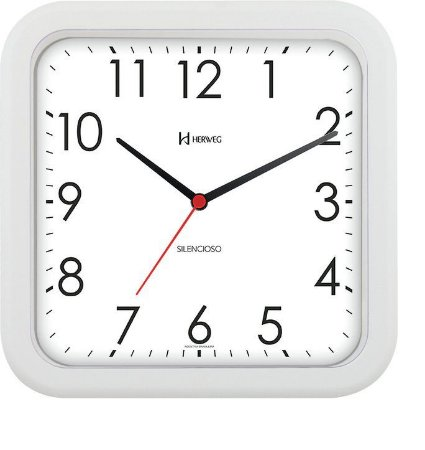 Relógio de Parede Herweg Branco