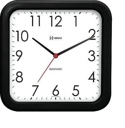 Relógio de Parede Herweg Preto