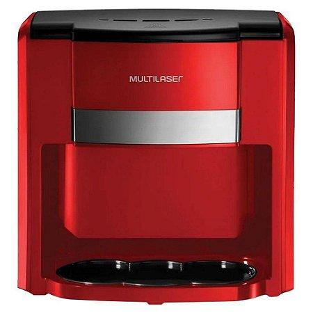 Cafeteira Elétrica Multilaser  Vermelha p/ 2 Xíc - 127V 500W