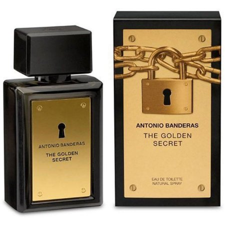 Perfume Golden Secret Eau de Toilette 200ml Antonio Banderas