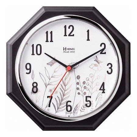 Relógio De Parede Decorativo Dourado 24 Cm Herweg