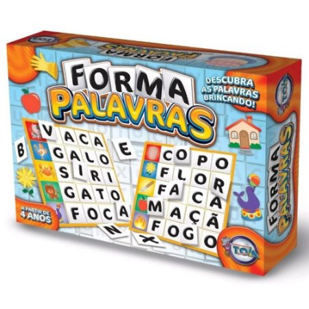 Jogo Forma Palavras - Toia Brinquedos