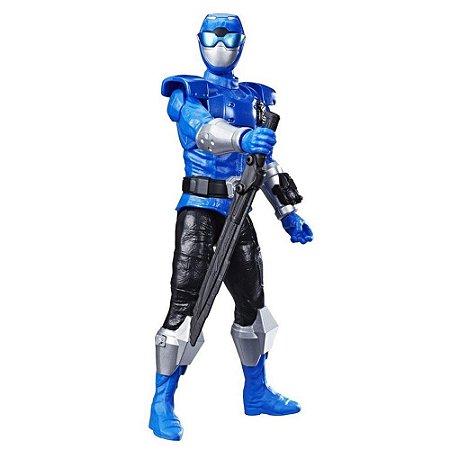 Boneco Power Rangers Titan Ranger Azul - Hasbro
