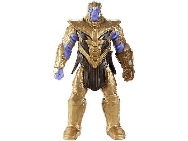 Boneco Marvel Avengers Thanos Deluxe 2.0 - 30cm Hasbro