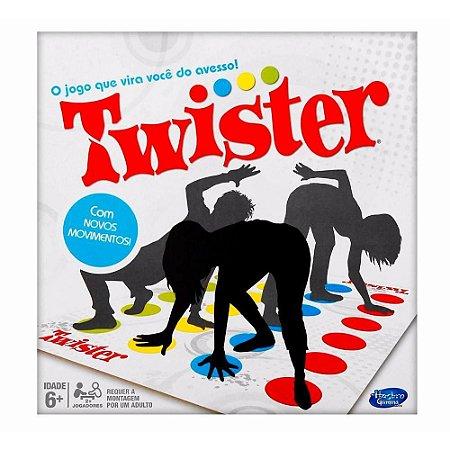 Jogo Twister com Novos Movimentos - Hasbro