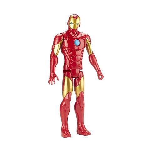 Boneco Avengers Marvel Titan Hero Blast Gear Homem de Ferro - Iron Man - Hasbro