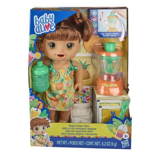 Boneca Baby Alive Misturinha Sabor Tropical Morena E6944 - Hasbro