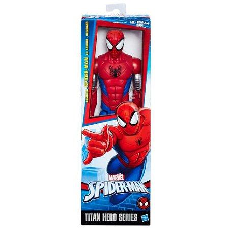 Boneco homem aranha warriors 12pp sort e2324 - Hasbro
