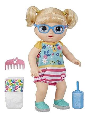 Boneca Baby Alive Primeiros Passinhos Loira Original Hasbro