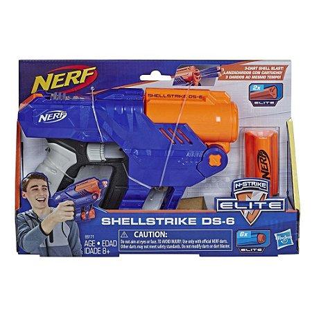Nerf Elite Shelltrike Ds6 Hasbro