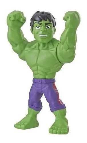 Boneco Marvel Super Hero Adventures Hulk - Hasbro