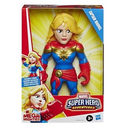 Boneca Super Hero Figura 10 Captain Marvel - Hasbro