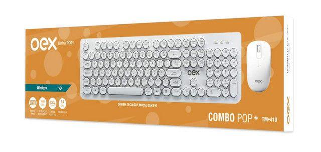 Combo Pop + Teclado + Mouse S/ Fio Oex