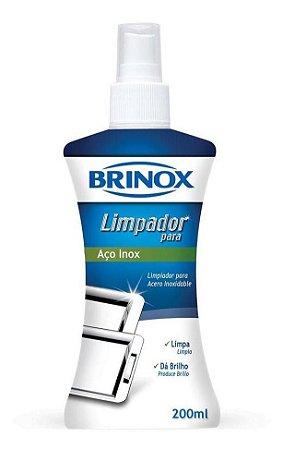Limpador de Aço Inox 200ml - Brinox