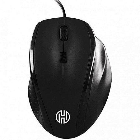 Mouse Gamer Usb 2.0 com Fio 1600Dpi Hoopson - Preto