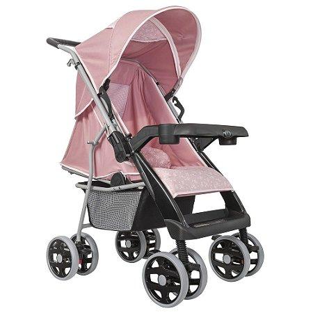 Carrinho de Bebê Thor Plus Rosa Coroa