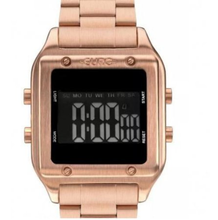 Relógio Euro Feminino Rose Fashion Fit Digital -EUG2510AD/4J