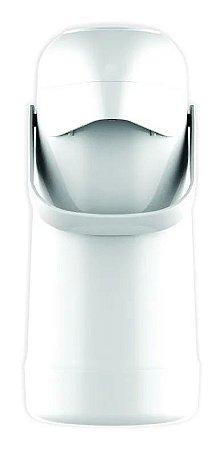 Garrafa Térmica Pressão Magic Pump 500ml Branca