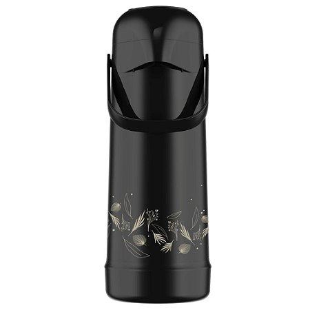 Garrafa Térmica Pressão Magic Pump 1L Abstrata