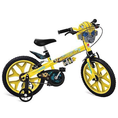 Bicicleta ARO 16 - Transformers - Bumblebee - Bandeirante