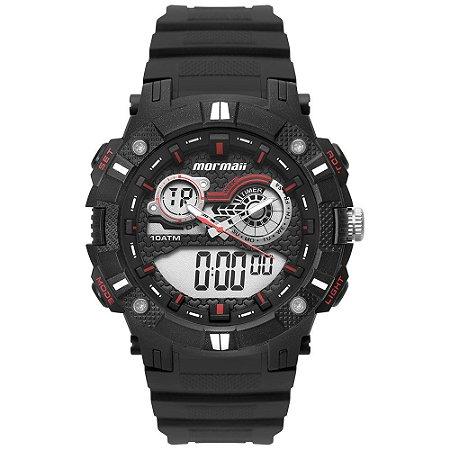 Relógio Mormaii Masculino Action Preto - MOAD3781AA/8R