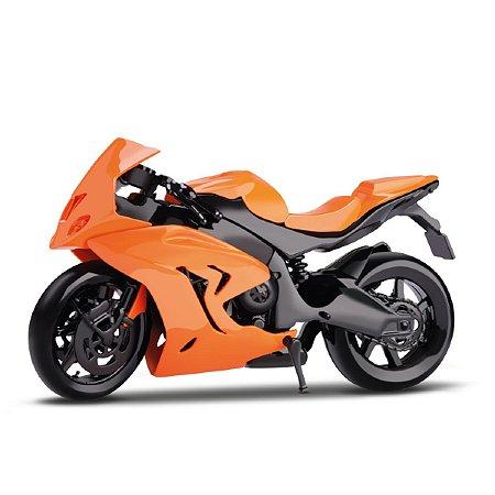 Moto Motorcycle Laranja - Samba Toys