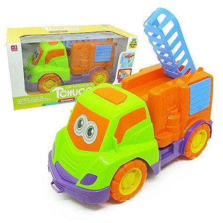 Caminhão de Bombeiro Tchuco Baby - Samba Toys
