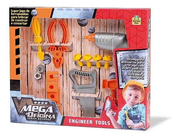 Mega Oficina De Ferramentas Samba Toys