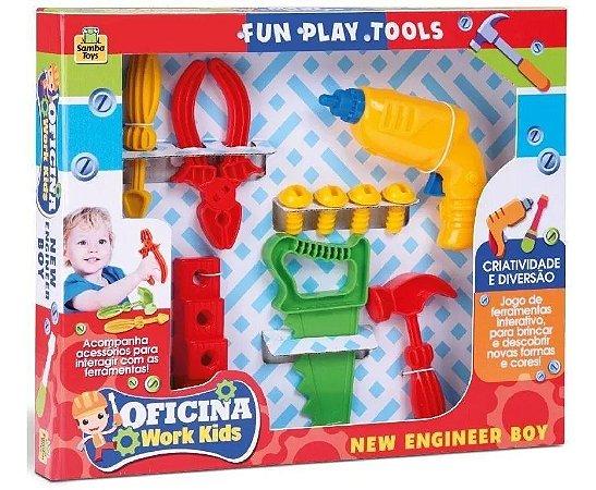 Ferramentas de brinquedo - Oficina Work Kids - Samba Toys